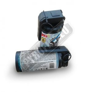 Blue smoke grenade w. lever igniter