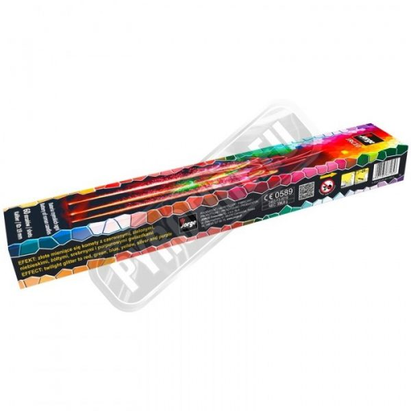 JRC10 battery of roman candles