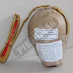 4inch display shell - Golden Titanium Willow