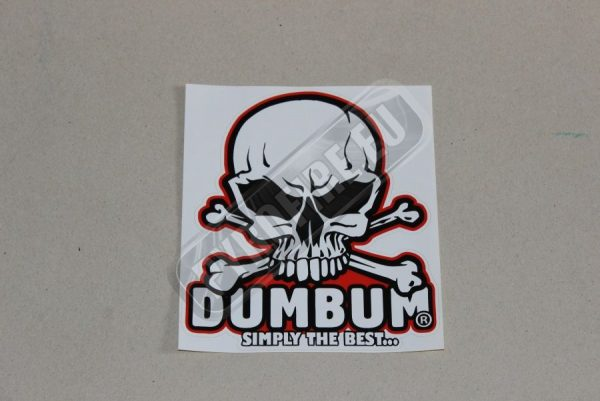 Dum Bum sticker