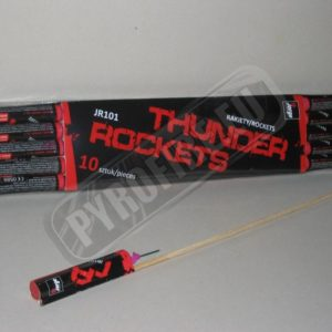 JR101 Thunder rockets