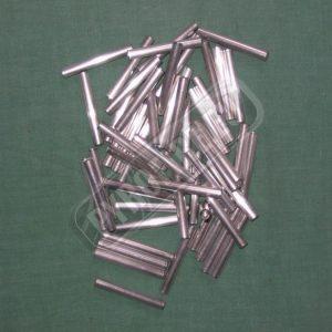 Small aluminum tube