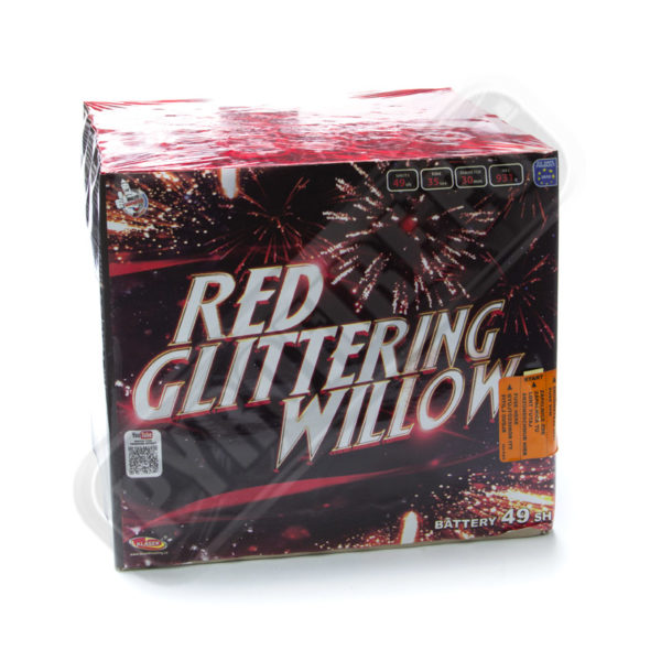 Red glittering wilow, 49 shots