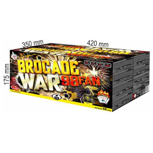 Brocade war 98sh(fan)|Brocade war 98sh(fan) CF9825BR/C